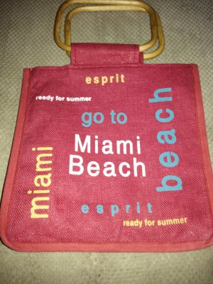 edc by Esprit Canvas Bag bright red