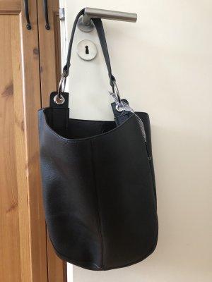 Esprit Beuteltasche Schultertasche schwarz Hobo