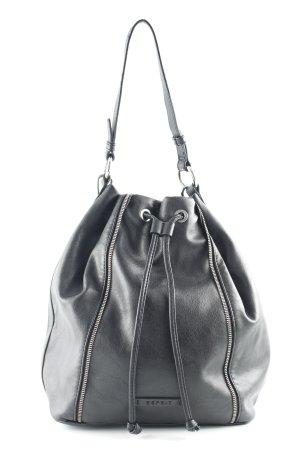 Esprit Buideltas zwart simpele stijl