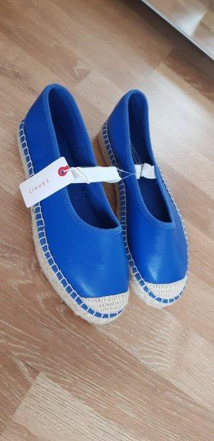 Esprit Sandales à talons hauts et plateforme bleu