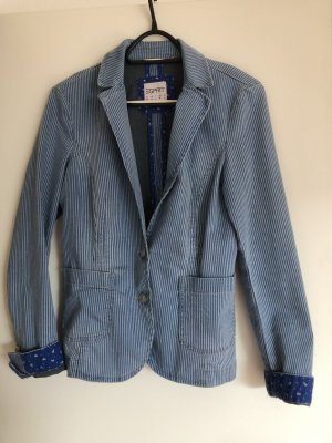 Esprit Denim Blazer multicolored cotton