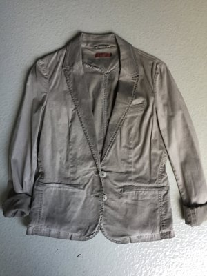 Esprit-Blazer, dark-washed