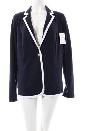 Esprit Blazer dunkelblau-weiß Marine-Look