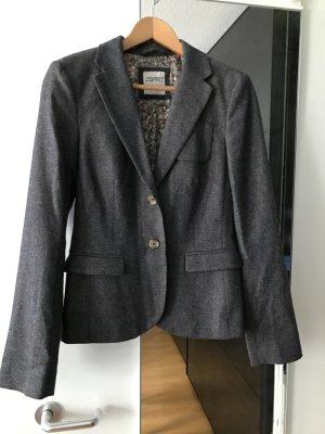 Esprit Tweed blazer veelkleurig Gemengd weefsel