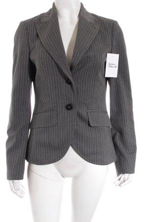 Esprit Blazer grau-weiß Nadelstreifen Business-Look