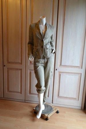 Esprit Blazer Hose Anzug Leinen 34 waschbar