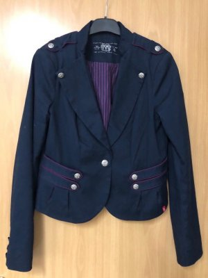 Esprit Denim Blazer dark blue-dark red