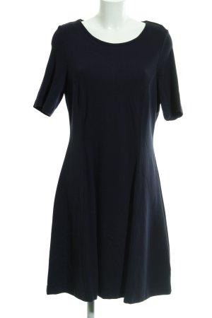 Esprit Kokerjurk donkerblauw Patroon-mengeling zakelijke stijl