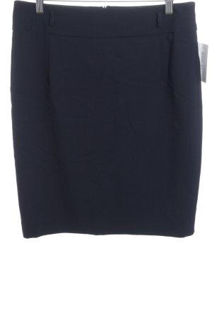 Esprit Bleistiftrock dunkelblau Business-Look