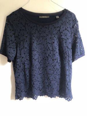 Esprit Lace Blouse dark blue