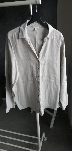 Edc Esprit Oversized Blouse light grey