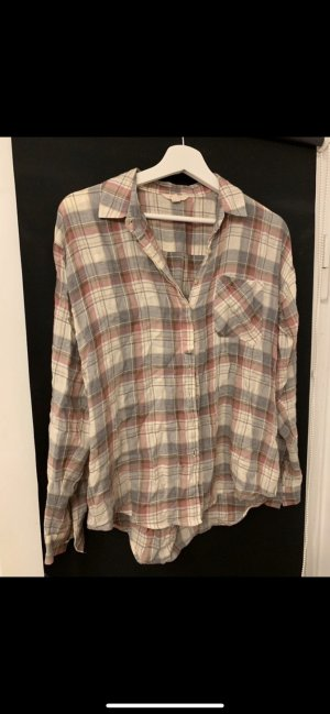 Esprit Checked Blouse light grey-pink