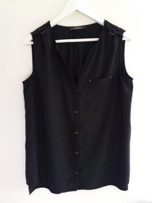 Esprit Bluse Blusentop schwarz wie neu 40 40/42 42 L XL