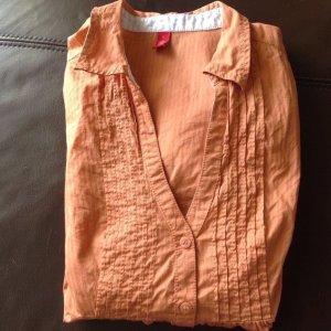 ESPRIT Bluse Hemd orange grösse L wie neu!
