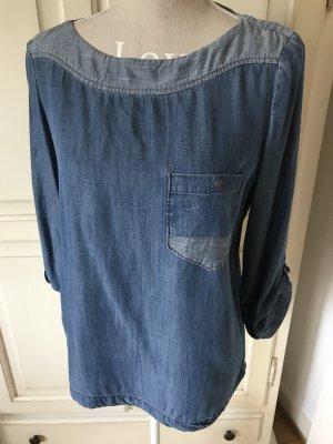 Esprit Bluse jeans ganz weicher stoff