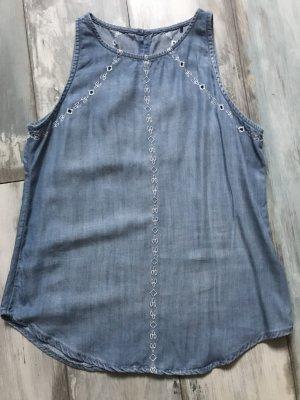 Esprit Bluse jeans ganz weicher stoff NEU ohne Etikett