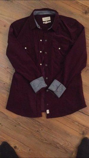 Esprit Bluse lila mit Jeans abgesetzt Größe S