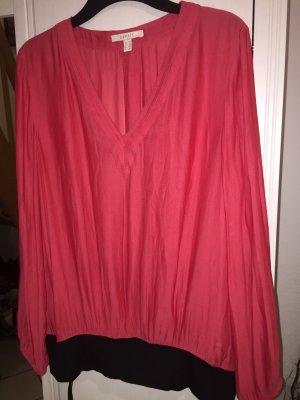 ESPRIT Bluse mit breitem Bündchen