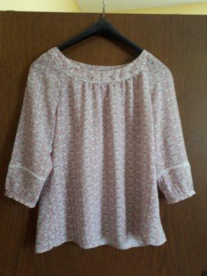 Esprit Bluse rosa/weiß Größe 38