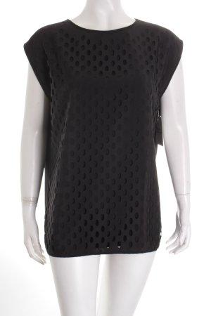 Esprit Bluse schwarz minimalistischer Stil