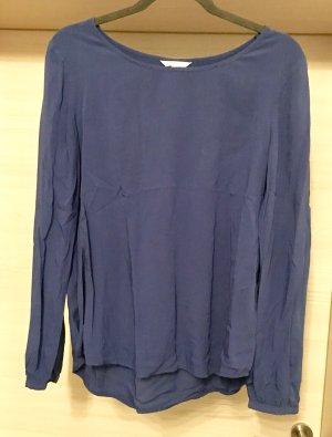 Esprit Bluse Shirtbluse blau Gr 38