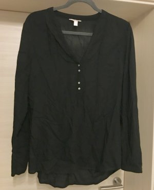 Esprit Bluse Tunika Top Shirt schwarz Gr 38