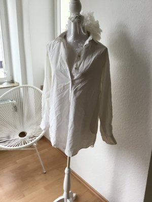 Esprit-Bluse: weiß, lässig, oversize