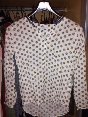 Esprit Bluse weiss Muster
