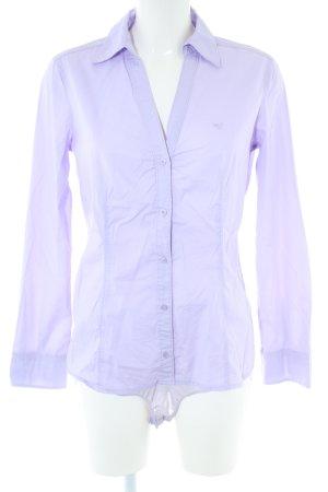 Esprit Blusa tipo body lila estilo «business»