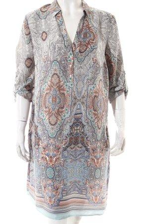 Esprit Blusenkleid abstraktes Muster Casual-Look
