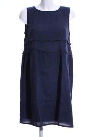 Esprit Blusenkleid blau Business-Look