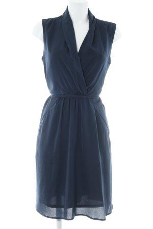 Esprit Vestido camisero azul oscuro elegante