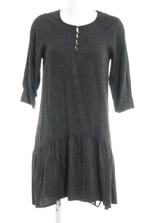 Esprit Blusenkleid dunkelgrau meliert extravaganter Stil