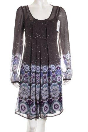 Esprit Blusenkleid florales Muster klassischer Stil