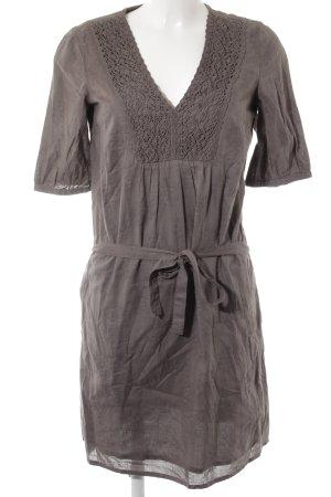 Esprit Abito blusa marrone-grigio stile casual