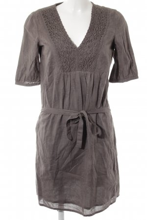Esprit Blouse Dress grey brown casual look