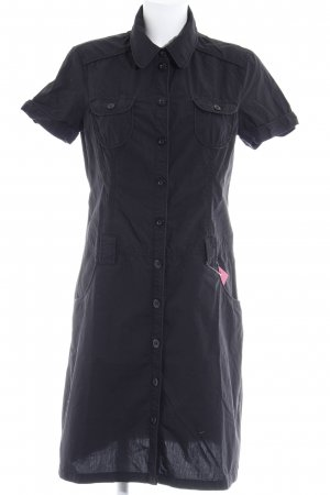Esprit Blusenkleid schwarz Casual-Look