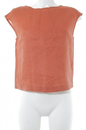 Esprit Blusentop rostrot Casual-Look