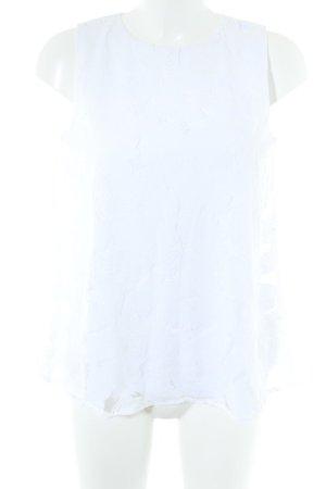 Esprit Blusentop weiß Blumenmuster Elegant