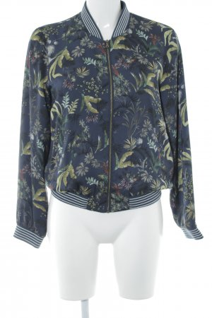 Esprit Bomber Jacket floral pattern college style