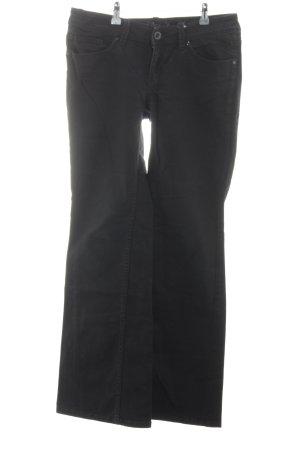 Esprit Boot Cut spijkerbroek zwart casual uitstraling