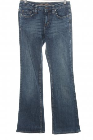 Esprit Boot Cut Jeans blau Casual-Look