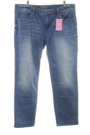 Esprit Boot Cut Jeans blau Jeans-Optik