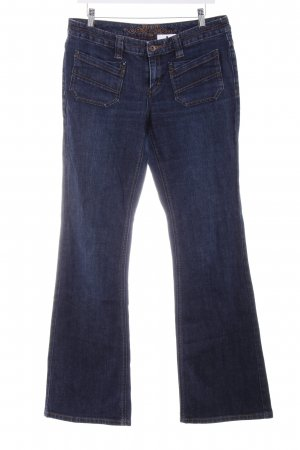 Esprit Boot Cut Jeans dunkelblau Casual-Look