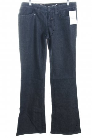 Esprit Boot Cut Jeans dunkelblau Rockabilly-Look