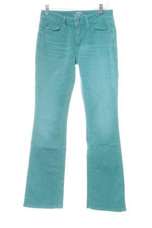 Esprit Jeans bootcut bleu cadet style décontracté