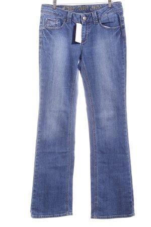 Esprit Vaquero de corte bota azul aciano look casual