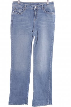 Esprit Boot Cut Jeans kornblumenblau Destroy-Optik
