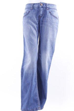 Esprit Boot Cut Jeans mit Ziernähten