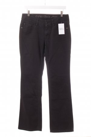 Esprit Boot Cut Jeans schwarz Casual-Look